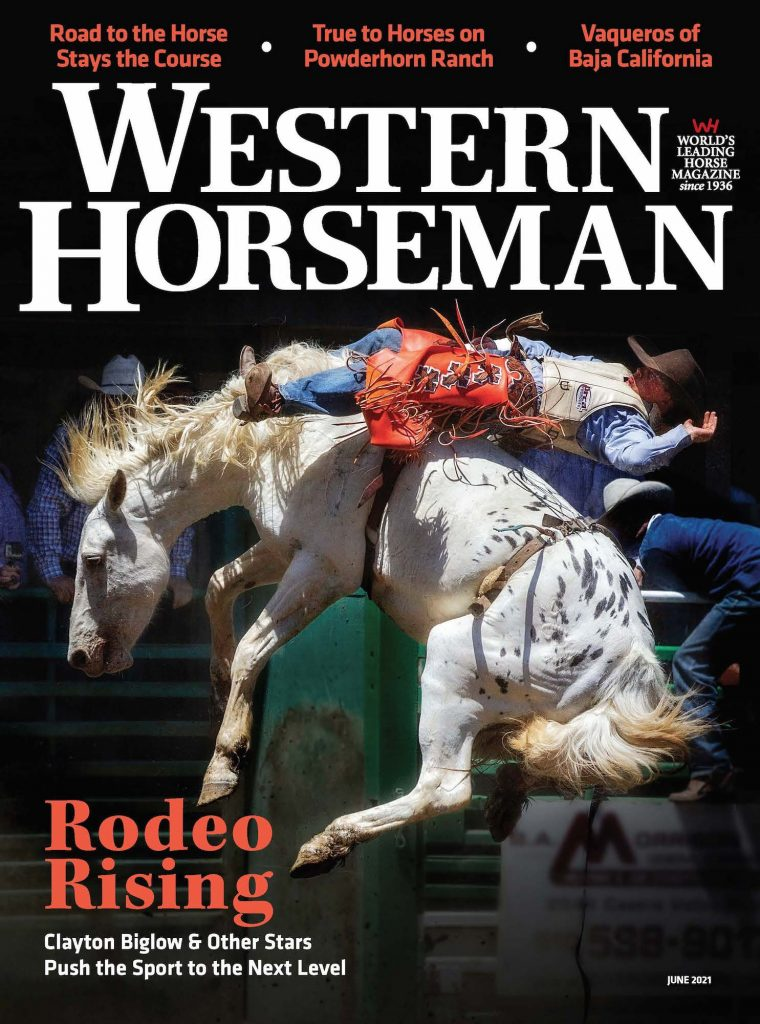 June 2021 Western Horseman Cover