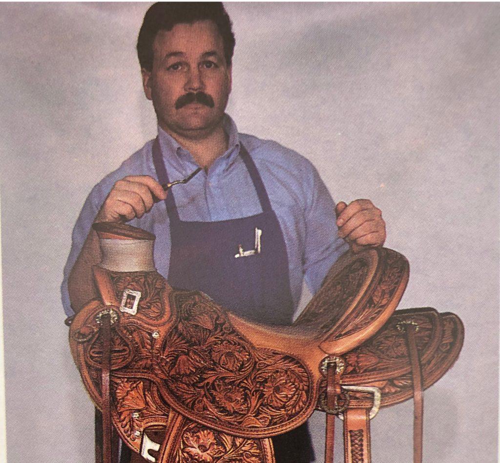 Saddlemaker Chas Weldon