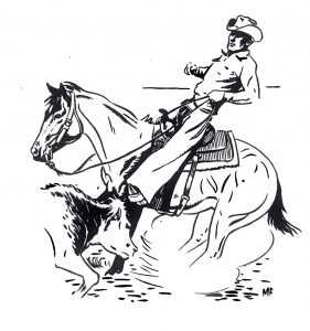 A rider that didn't have to go to the end of his reins to correct his horse.