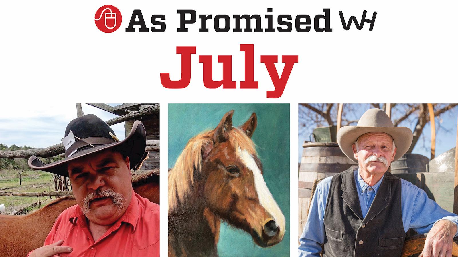 Western Horseman July 2021