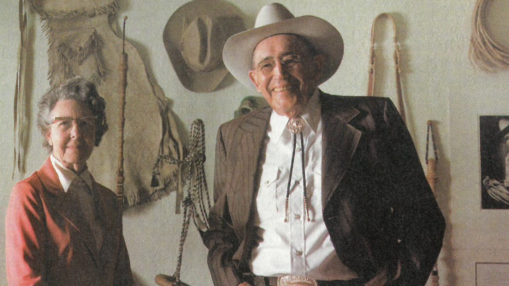 Influential horseman like Luis Ortega displayed and sold braidwork at equestrian events.