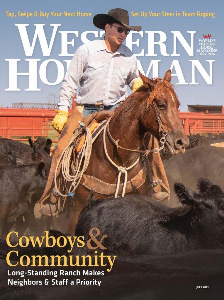 Western Horseman July 2021 Cover