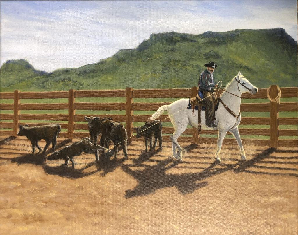 A Day on the Ranch, by Larkin Rice