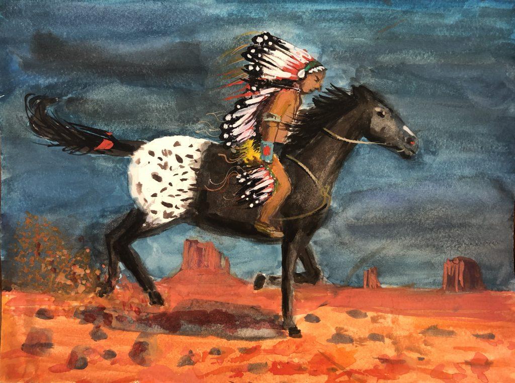 The Western Wind, by Amie Makhnovskiy