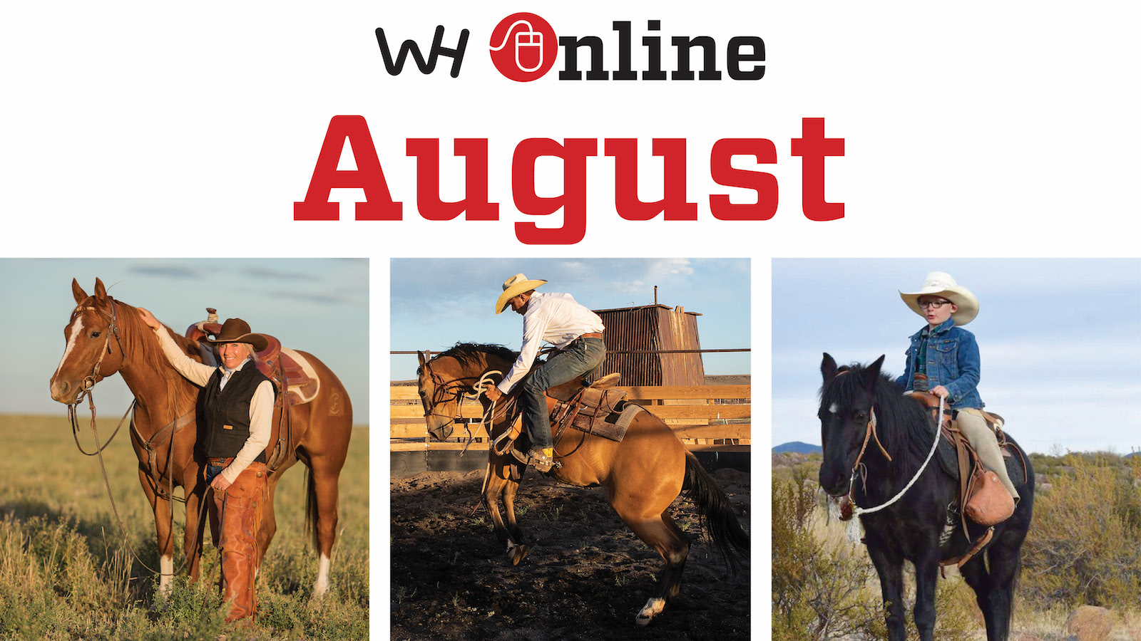 August 2021 Western Horseman Online Content