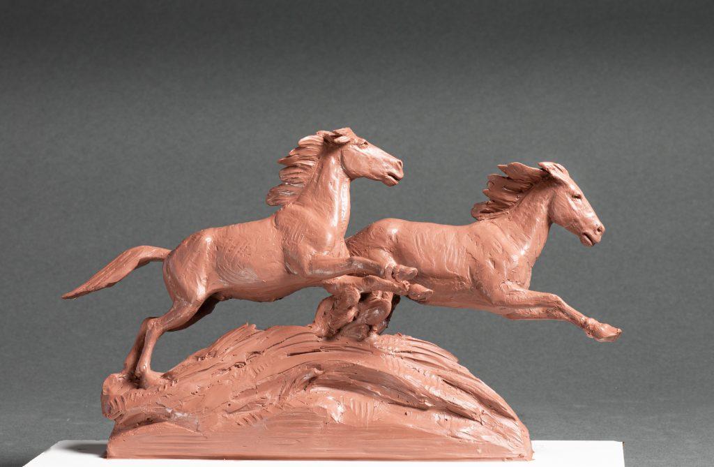 Bronze by Cowboy Artists of America member Dustin Payne