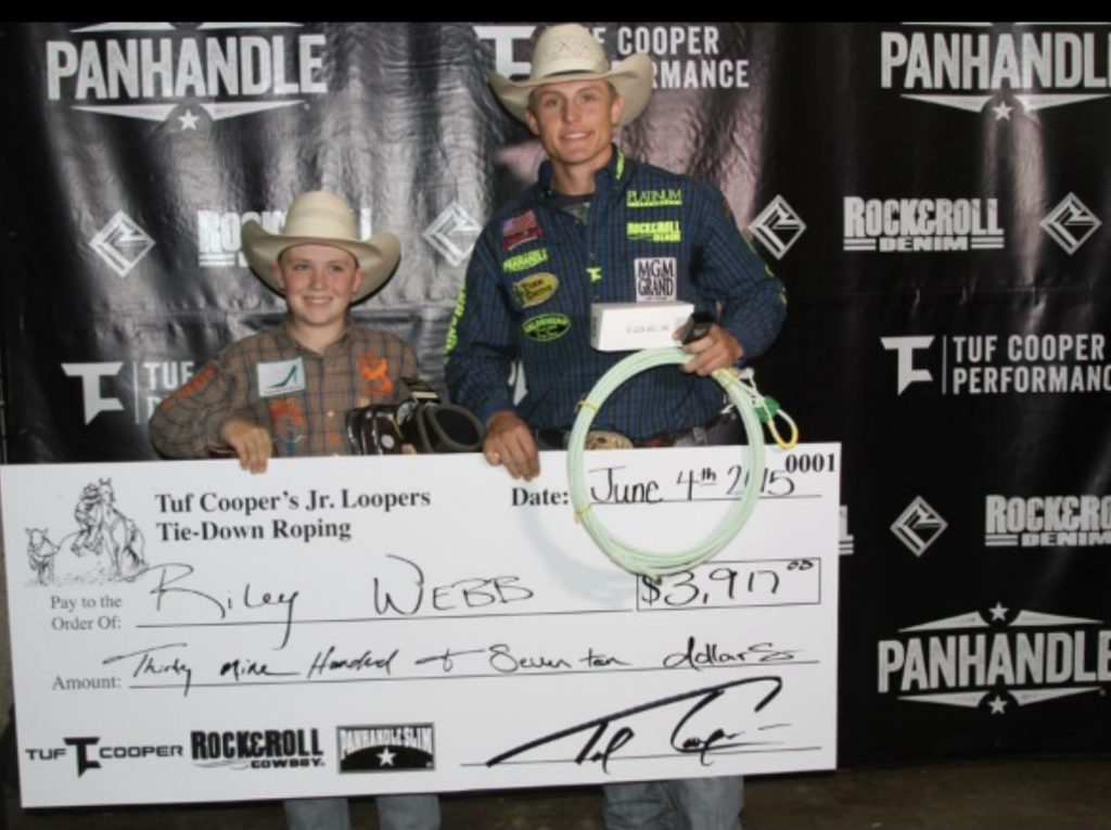 Tuf Cooper with Riley