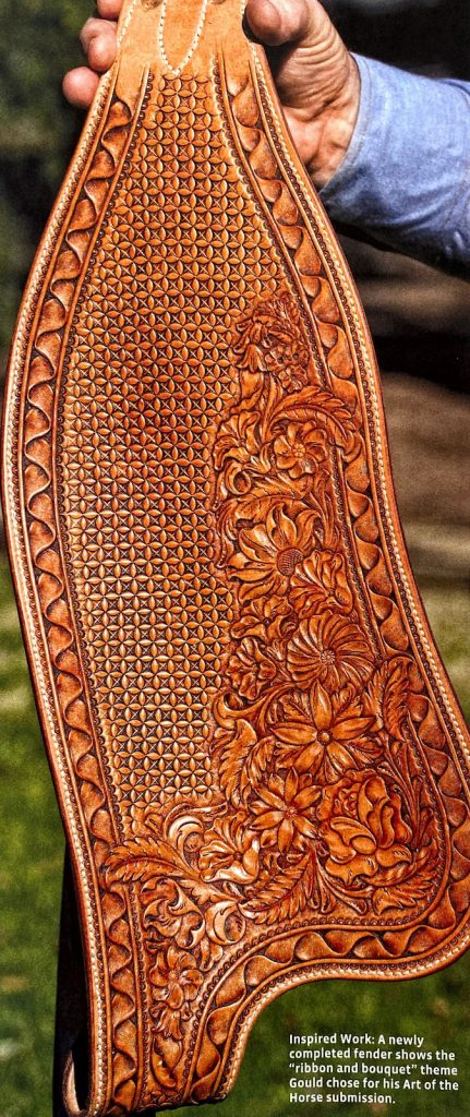 A tooled fender by Al Gould.