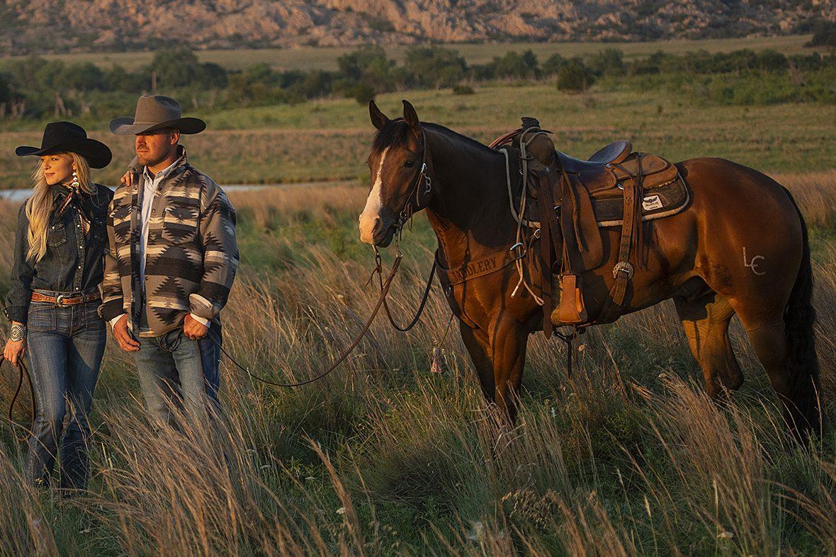 Rowdy Spook Affair was one of Western Horseman's horse models